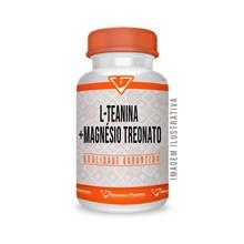30 Doses L-teanina 500mg + Magnésio Treonato 200 Mg