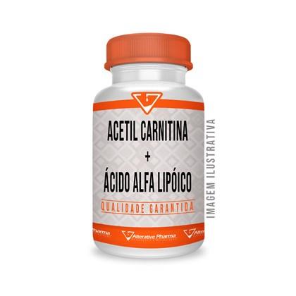 Acetil Carnitina 500mg + Ácido Alfa Lipóico 100mg