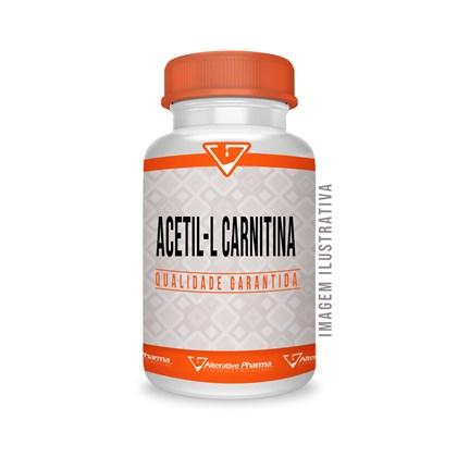Acetil L Carnitina 500mg 120 Cápsulas