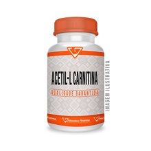 Acetil L Carnitina 500mg 120 Cápsulas Sublinguais