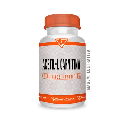 Acetil L Carnitina 500mg  Cápsulas Sublinguais