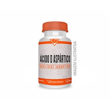 Ácido D-aspártico 500mg - 120 Cápsulas - Acido Aspartico