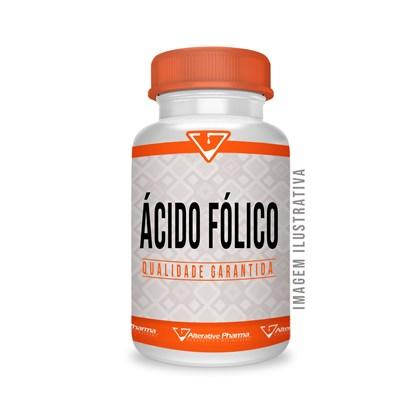 Ácido Fólico 5 Mg - 180 Cápsulas Acido Folico