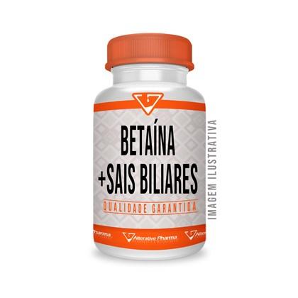 Betaína 300 Mg + Sais Biliares 300 Mg