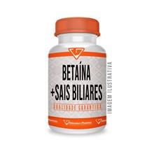 Betaína 300 Mg + Sais Biliares 300 Mg - 90 Cápsulas