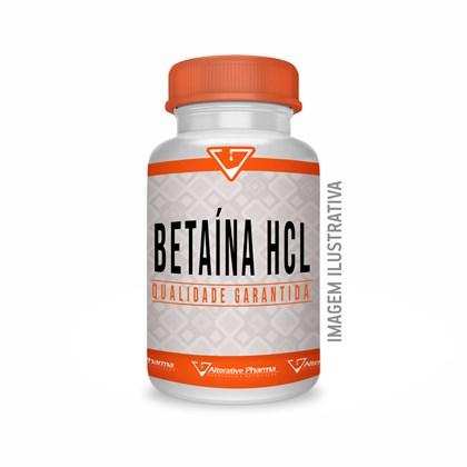 Betaína Hcl 300mg