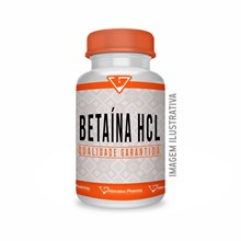 Betaína Hcl 600mg