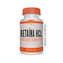Betaína Hcl 600mg 90 Cápsulas