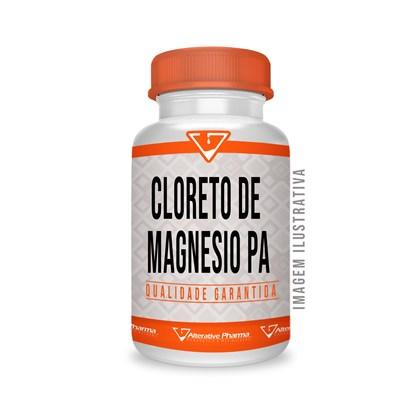 Cloreto De Magnesio Pa 500mg 120 Cápsulas