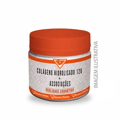Colágeno Hidrolisado 12g + Associações.