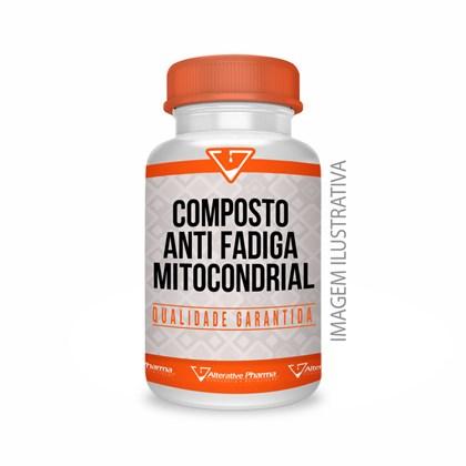 Composto Anti Fadiga Mitocondrial Cápsulas Sublinguais