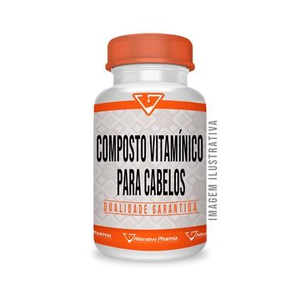 Composto Vitamínico Para Cabelos