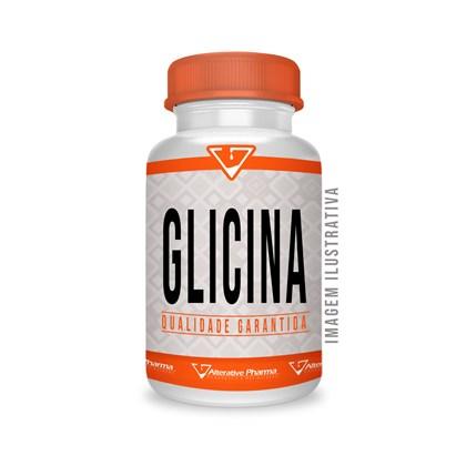 Glicina 500 Mg - 60 Cápsulas