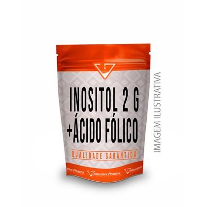 Inositol 2 G + Ácido Fólico 400 Mcg -  Sachês