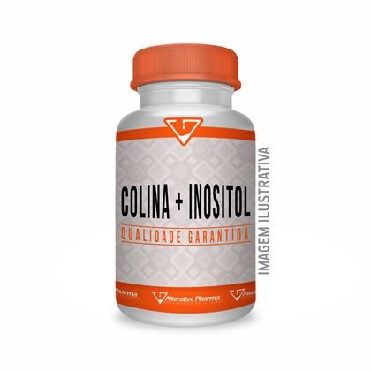 Inositol 250mg + Colina 250mg - 60 Cápsulas