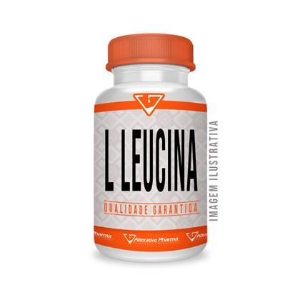 L Leucina 200mg - 120 Cápsulas