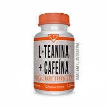 L Teanina 200mg + Cafeína 200mg - 120 Cápsulas