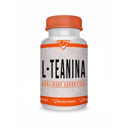 L Teanina 500mg Manipulado 120 Cápsulas - L-theanine