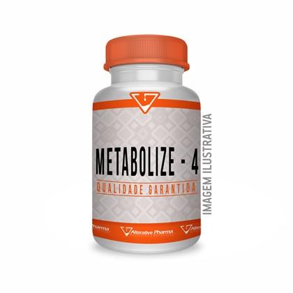 Metabolize 4 500mg 120 Cápsulas Manipulado