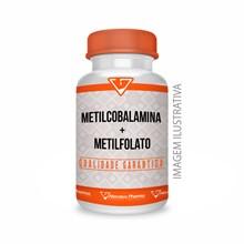 Metilcobalamina 500mcg + Metilfolato 2mg - 90 Cápsulas