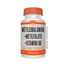 Metilcobalamina + Metilfolato + Vitamina B6 - 60 Cápsulas