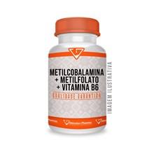 Metilcobalamina +metilfolato+ Vitamina B6 60 Cápsulas Sublin