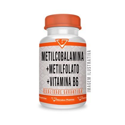 Metilcobalamina + Metilfolato + Vitamina B6 - 60 Comp Subli