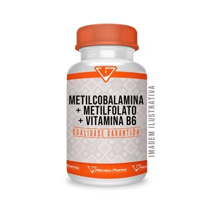 Metilcobalamina +metilfolato+ Vitamina B6  Cápsulas Sublin