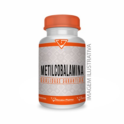 Metilcobalamina - Vitamina B12 - 250 Mcg 60 Cápsulas
