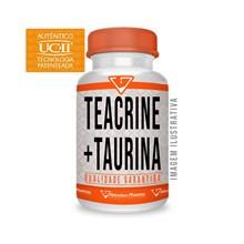 Teacrine®200mg+taurina 500mg 60 Cáps - Selo De Autenticidade
