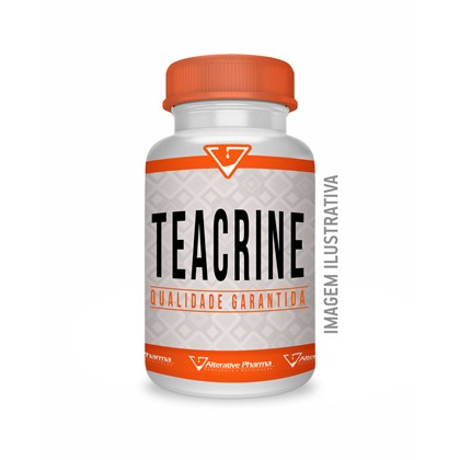 Teacrine ® 200mg  - Selo De Autenticidade