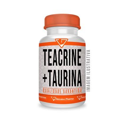 Teacrine ® 200mg + Taurina 250mg 120 Cáps