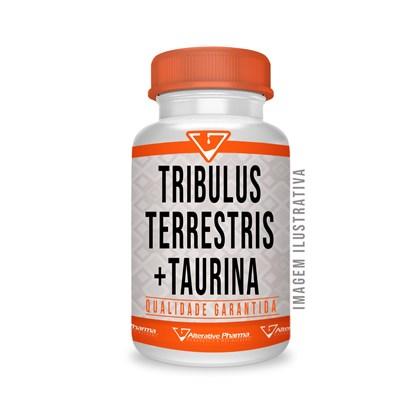 Tribulus Terrestris 625mg + Taurina 500mg