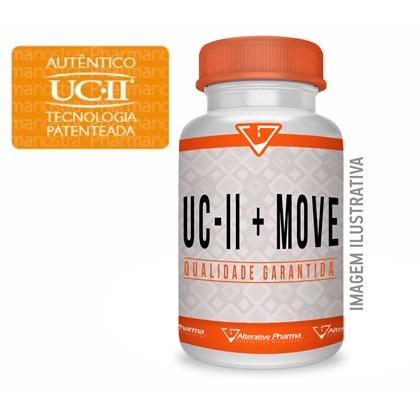 Uc 2 40mg + Move 100mg  Saúde Para As Articulações 120 Cáps.