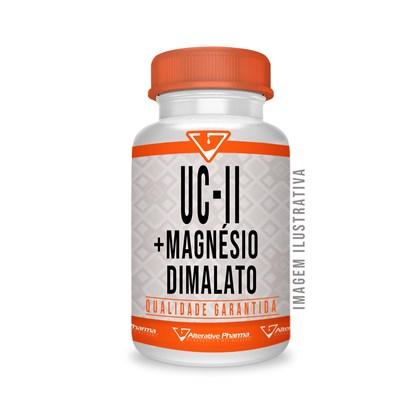 Uc-ii 40mg + Magnésio Dimalato 200mg - 120 Cáps