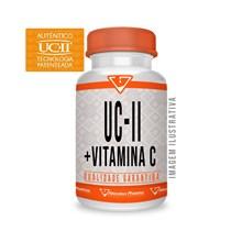 Uc-ii 40mg + Vitamina C 80mg - 120 Cápsulas - Autêntico Uc 2